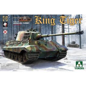 Takom King Tiger, 1/35, Tanque Con Interiores Completo