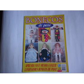 Revista Bonecos De Pano - Nº 1 - Boneca, Sapo, Coelho, Ganso