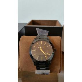Relógio Michael Kors Feminino Slim Runway Preto 4,2cm Mk3318 ... 5f6336f6a0