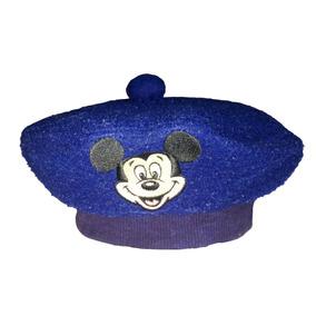 Boina Francesa Pintor Disney Azul Original Inverno Frio Kids b3ca5ba4589