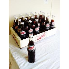 Engradado 24 Garrafas Pepsicola Completo Anos 60/70 Original