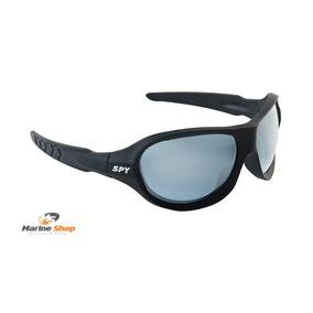 Óculos De Sol Spy Original - Avt 65 Preto Fosco - Espelhada 087927fe1d