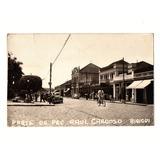 Cartao Postal Fotografico Pç Raul Cardoso Birigui Sp Anos 50