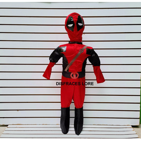Disfraz De Deadpool Disfraces Super Heroes Deadpool Niños edc471413baf