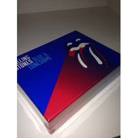 Cd Rolling Stones Deluxe Blue & Lonesome Cd Box Novo Import