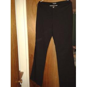 Pantalon Negro Strech De Vestir - Pantalones de Mujer en Mercado ... 875071052d2b