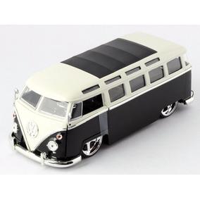 Volkswagen Kombi / Bus 1962 Bigtime Preta 1:24 Jada
