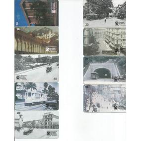 Cartão Telefônico Série Bondes Incomp Com 2 Cartões Raros