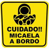 Stickers Cuida A Tu Bebe En Tu Auto Mde