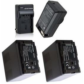 2 Baterias Vw-vbg6 + Um Carregador P/ Panasonic Ag-hmc40 Ac7