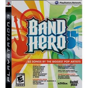 Band Hero - Jogo Ps3 Midia Física Lacrado