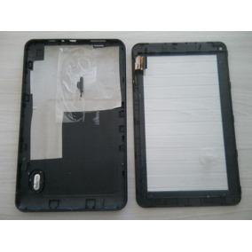 Carcaça Semp 7 Pol Ta0760w Completa+tela Vidro Semi Novo