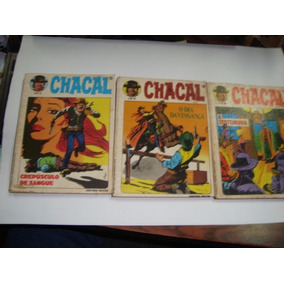 Chacal 01 02 03 04 06 07 08 11 13 14 E Outros Vecchi 1980
