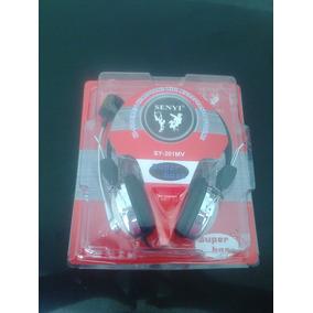 Fone De Ouvido Headphone Com Microfone Sy-301mv