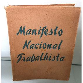 Manifesto Nacional Trabalhista Doutrina E Programa De Reform