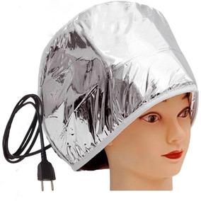 Touca Térmica Elétrica Metalizada Para Tratamento Capilar