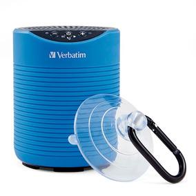 Mini Bocina Bluetooth Resistente Al Agua Azul Verbatim 98592