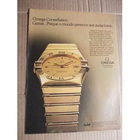 16566e41f3f Relogio Omega Constellation Antigo Em - Coleções e Comics no Mercado ...