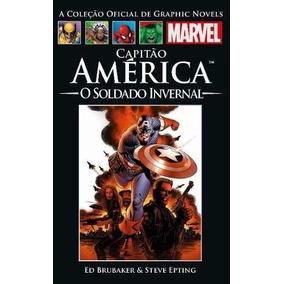 Salvat Marvel - Cap América Soldado Invernal - Novo/lacrado