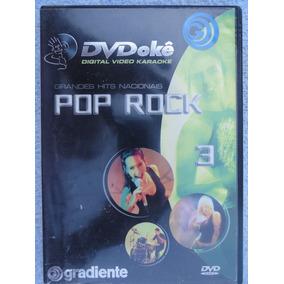 Dvd Karaokê Pop Rock 3 Gradiente - Grandes Hits Nacionais