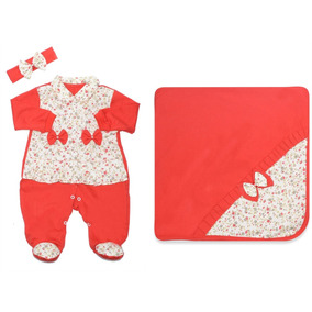 Saida Maternidade Vermelho - Roupas de Bebê no Mercado Livre Brasil cbbfdcc49ec