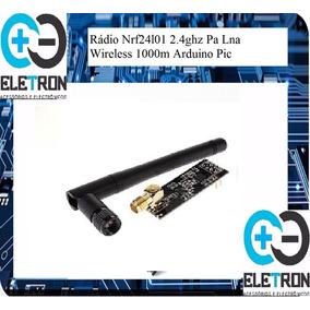 Rádio Nrf24l01 2.4ghz Pa Lna Wireless 1000m Arduino Pic