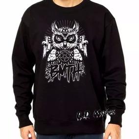 60a87f336ad Blusa De Frio Gola Careca Da Adidas Masculino - Camisetas Manga ...