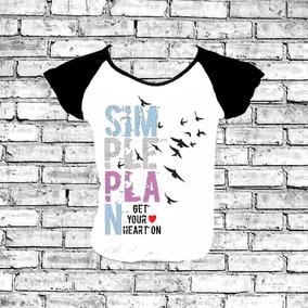 Camiseta Simple Plan Branca - Camisetas Manga Curta no Mercado Livre ... dff60d0f7ea