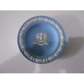 Prato City Of London Blue Porcelana Weedwood 11 Cm Diametro