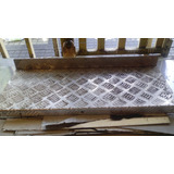 Retazo De Plancha Diamantada De Aluminio 60x23cms