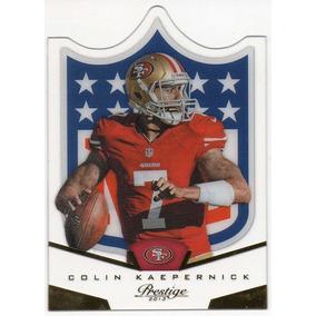 2013 Prestige Nfl Shield Die Cut Colin Kaepernick 49ers Qb 3545fb6ea44b5