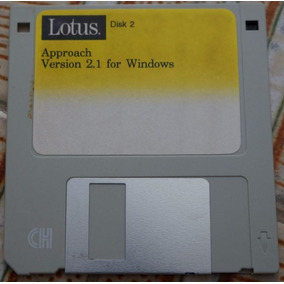 Disquete Lotus: Disk 2 Approach - Version 2.1 For Windows