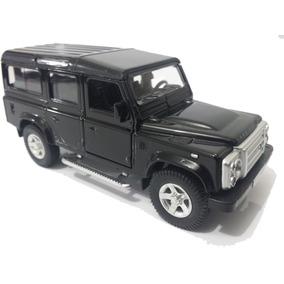 Carrinho Land Rover Defender - Preto - Miniatura 1/32