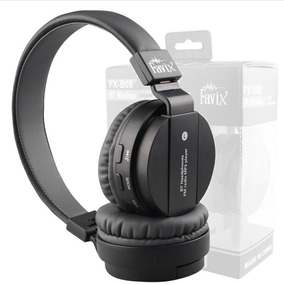 Fone Favix B08 Sem Fio Bluetooth C/ Radio Fm Mega Bass P2 Sd