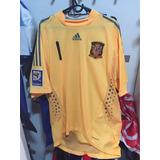 Camisa Usada Por Casillas Nas Eliminatórias Da Copa De 2010
