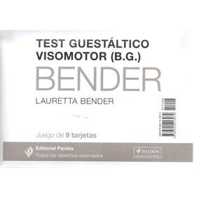 Tarjetas Del Test Guestáltico Visomotor (b.g.) Bender