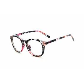 Kit Com 4 Óculos Acetato Redondo Novo Masculino Feminino Aa 604fd8894d