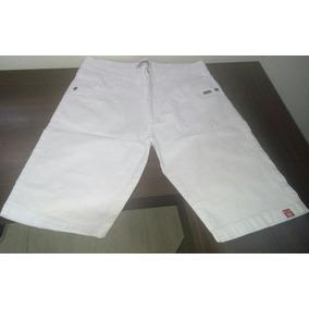 Bermuda Jeans Branca | Element - Frete Grátis