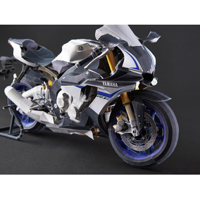 Replica Ultrarealista Moto Yzf-r1m Papercraft