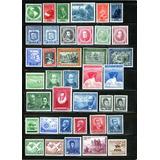 261 Estampillas Chilenas De Colección, 115 Series Completas.