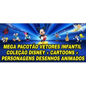 Vetores Infantis Em Coreldraw + De 800 Imagens Vetor Cdr.