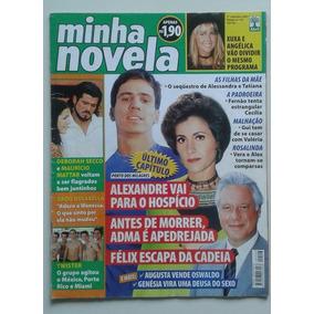 Minha Novela 107 2001 Porto Dos Milagres Xuxa Spanic Thalía