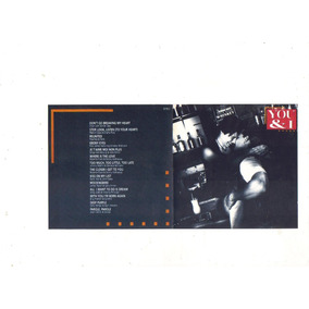 Cd You & I - Coletãnea Romantica, Original Seminovo, 1995