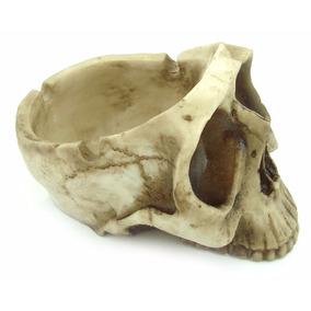 Cinzeiro Crânio Caveira Decorativo Halloween Resina