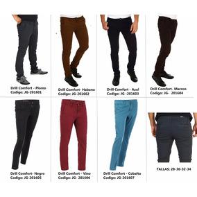 Pantalon Pitillo De Colores Para Damas En Drill - Pantalones y Jeans ... 64d63a20ea0