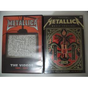Lote Dvds Metallica - Ac-dc