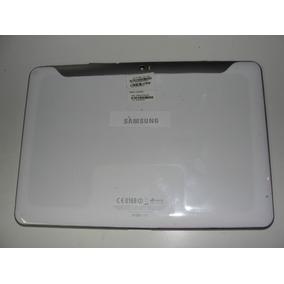 Carcaça + Aro + Tampa Tablet Samsung Gt P7500 3g Branca Orig