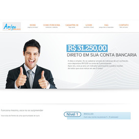 Site Mmn - Ajuda Mutua (marketing Multi Nível)