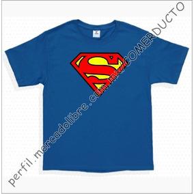Playeras De Super Heroes Para Niños Playera Superman Zxos