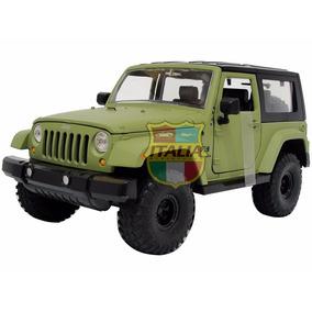 Jeep Wrangler 2007 1:24 Jada Verde